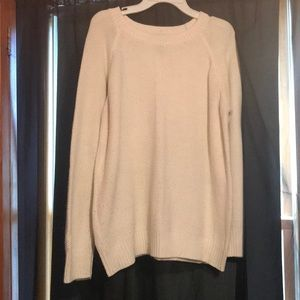 cream forever21 sweater